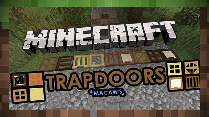 Мод Trapdoors Macaw Люки