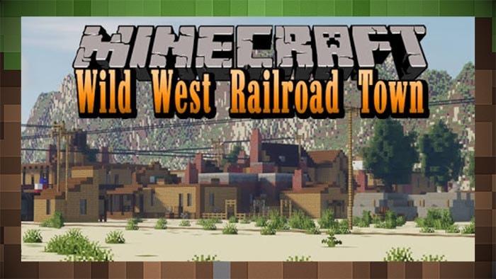 КартаЖелезнодорожный город Дикого Запада