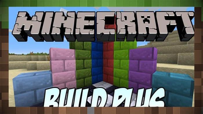 Мод Build Plus - Разноцветные Блоки