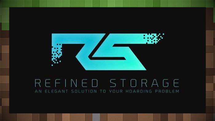 Мод Refined Storage (Хранение предметов)