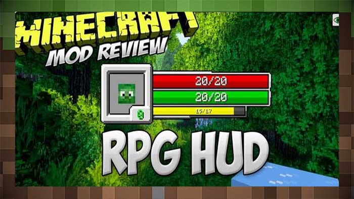 Мод Отображение HP RPG Hud