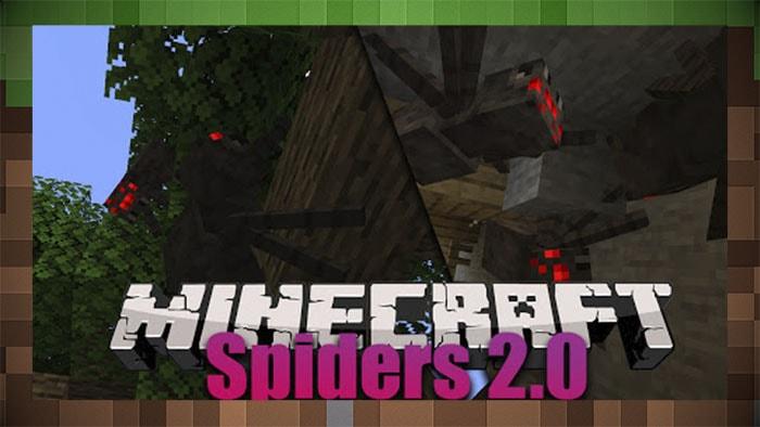 Мод Spiders 2.0