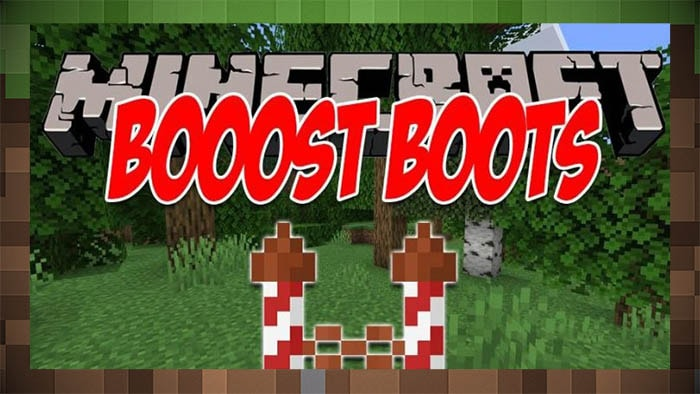 Мод Boost Boots