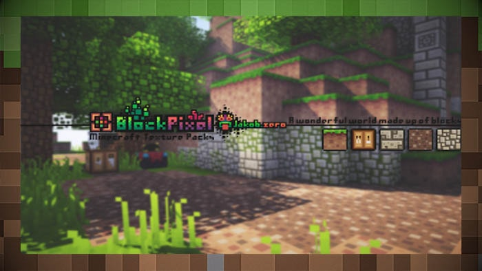 Сборка текстур BlockPixel 16x