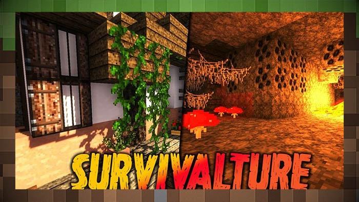 Текстуры Выживание / Survivalture