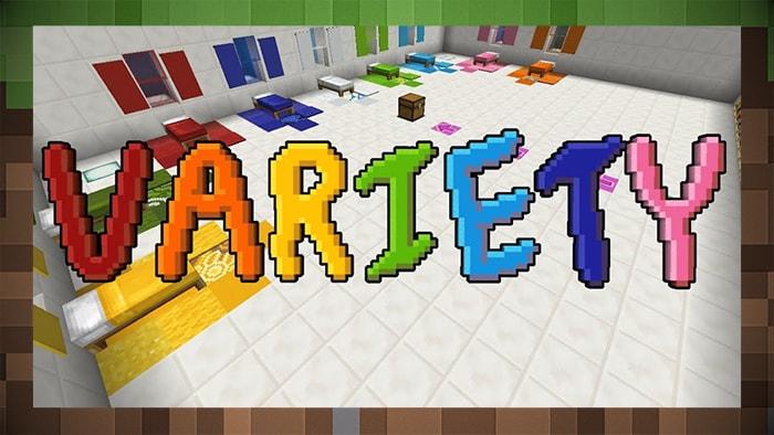 Карта мини-игра Variety