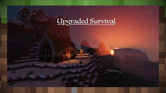 Карта Улучшенное выживание