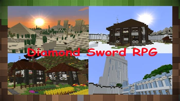 Карта Diamond Sword RPG