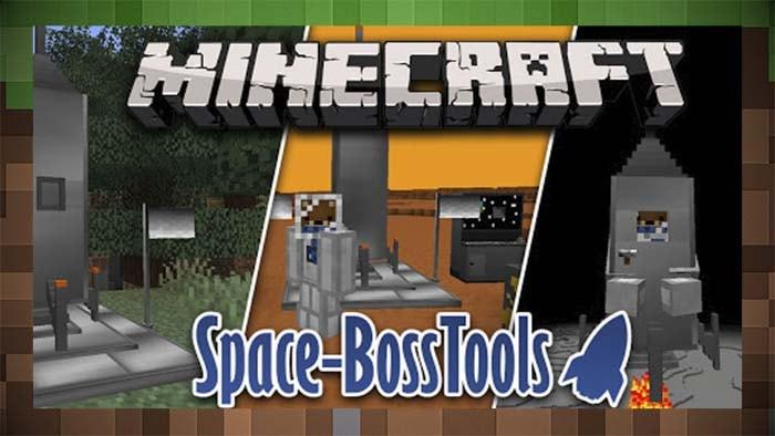 Мод Космическая Ракета - Space Boss Tools