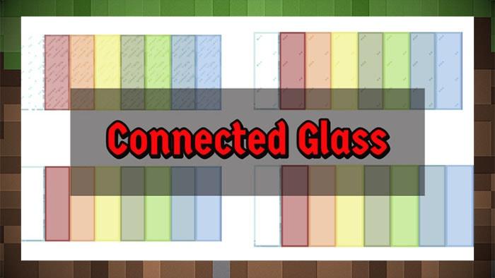 Мод Connected Glass Цветное Стекло