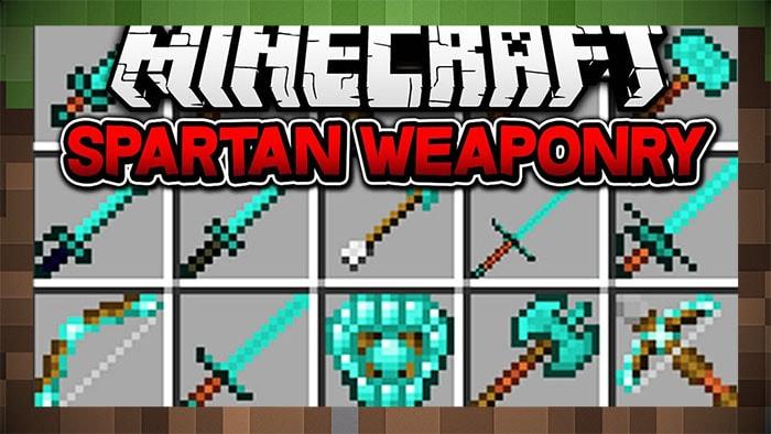 Мод Spartan Weaponry Мечи