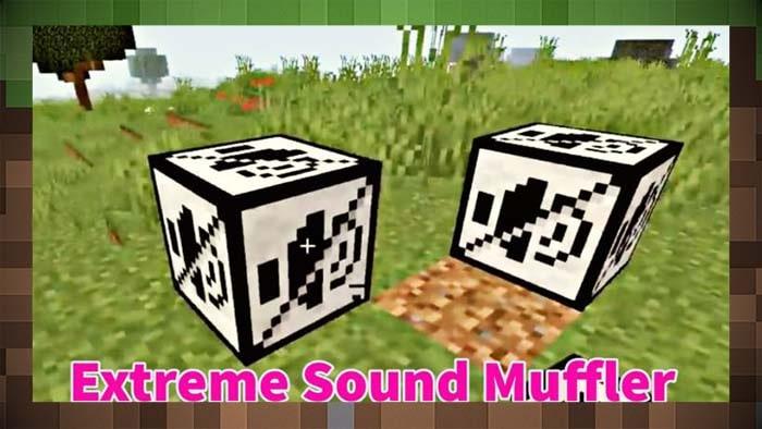 Мод Extreme Sound Muffler Отключение Звуков