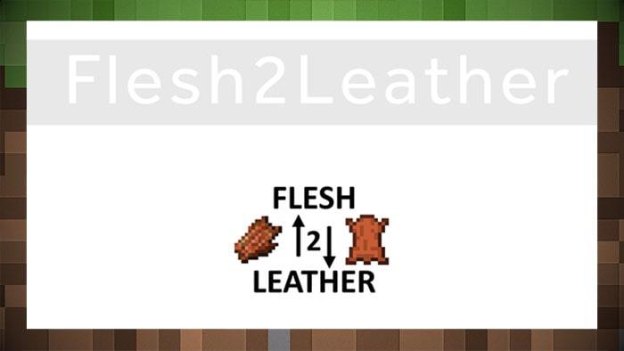 Мод Flesh2Leather