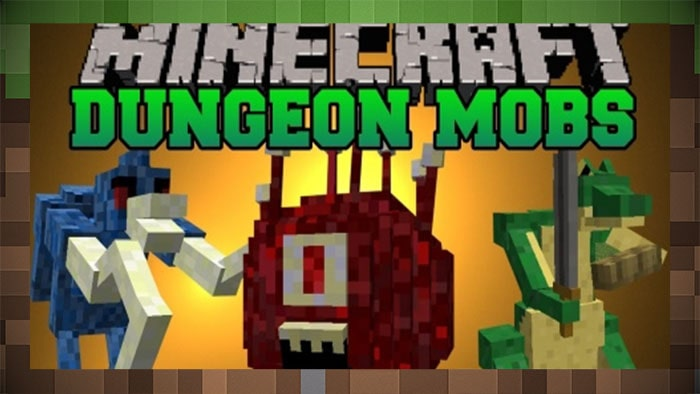 Мод Dungeons Mobs