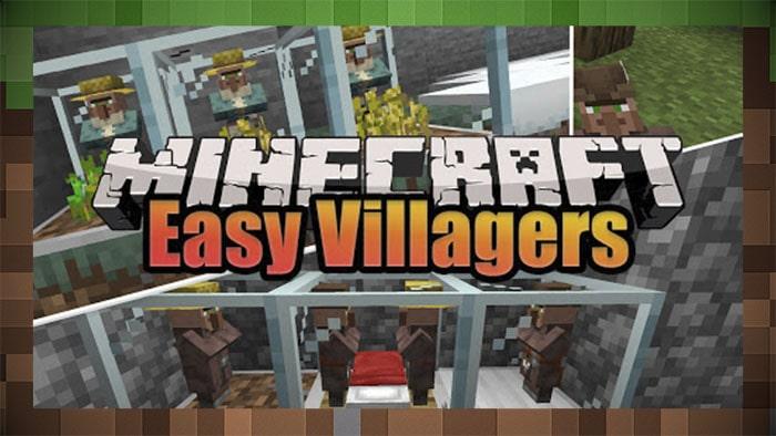 Мод Easy Villagers