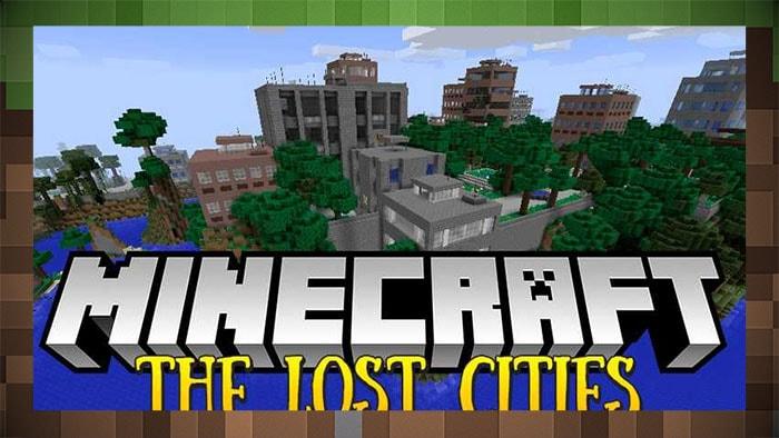 Мод Затерянный Город