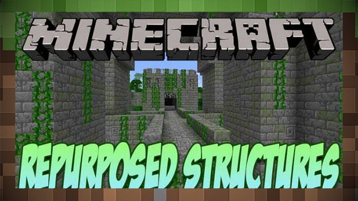 Мод Repurposed Structures (новые реликвии)
