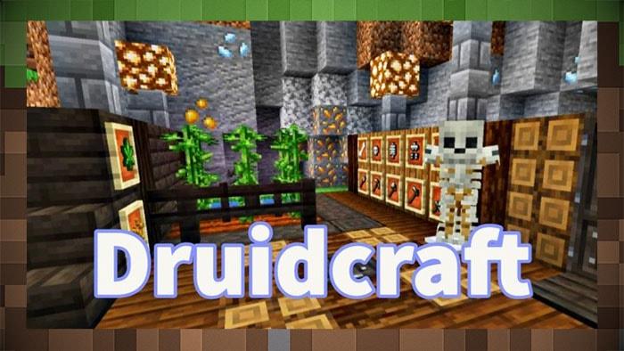 Мод DruidCraft Фантастический Биом