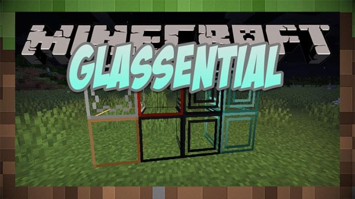 Мод новые стёкла Glassential