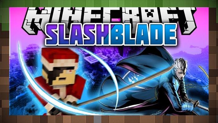 Мод Оружие Мечи - SlashBlade