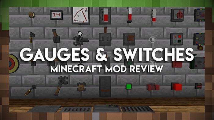 Мод Датчики и переключателиGauges and Switches