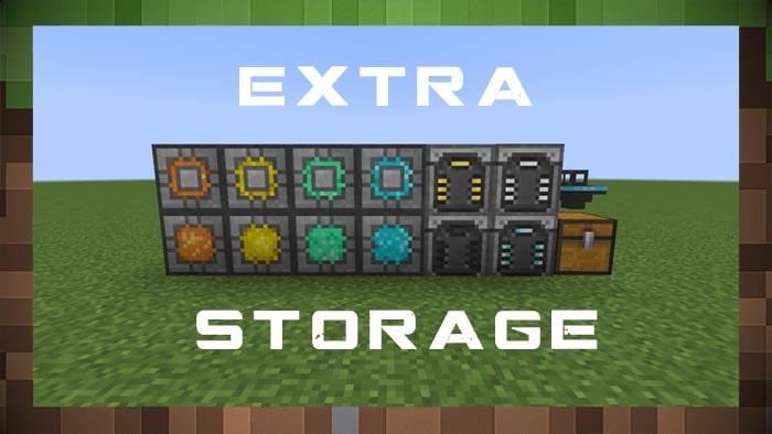 Мод Extra Storage
