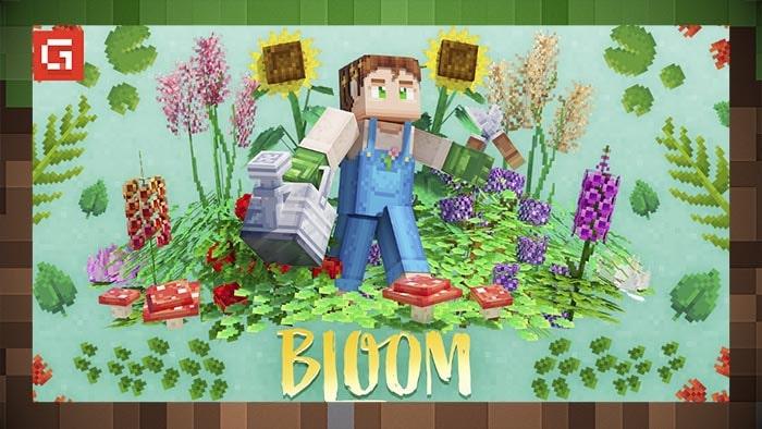 Мод Bloom & Gloom Растения