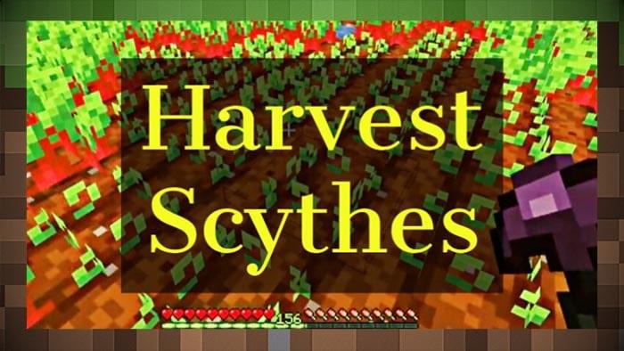 Мод Harvest Scythes Инструмент